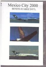 Aviation DVD - Mexico City 2000, Benito Juarez International - 4 DVDs