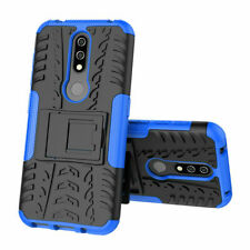 For Nokia 2.3 . 5.3  Heavy Duty Shockproof Hard Armor Stand Cover Slim Case