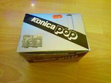 Konica Pop 35 mm Point & Shoot caméra travaillant en boîte avec Similicuir Case