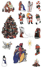 CHRISTMAS COL. #105 Embroidery Card for Brother, Baby Lock, Deco, Simplic .pes