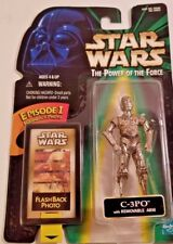 Star Wars TPOTF C-3PO Flash Back Photo Hasbro Action Fig. NEW (1998)