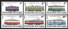 BULGARIA 1994 ** MNH SC # 3852 - 3857  The Trams