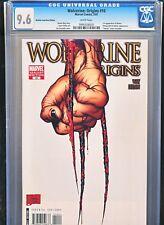 Wolverine Origins 10 CGC 9.6 3 Claw Variant 1st Daken