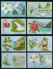 Canada - 1965 Provincial Flowers and Scenes set 12