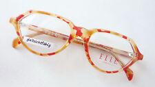 Designer Glasses ETP Elle Rarity Orange Red Ladies Luxusmode Size L