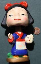 1960s Era Japanese Geisha Girl-Kabuki Dancer Nodder/Bobbin head doll-Beautiful!