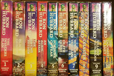 Mission Earth - L. Ron Hubbard 1-10 Complete Set Hardcover with Dust Jackets