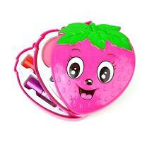 Make Up Kits Kids Girls Pink Gifts Set Toys Birthday Party Vanity Case Lip Gloss