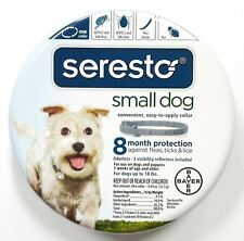 New listing New Seresto Flea & Tick Collar for Small Dogs up to 18 lbs 8 months protection