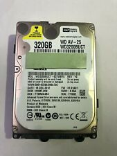 "320gb Hard Disk Drive 2.5"" inch HDD Internal SATA Laptop CCTV DVR Disc  WD"