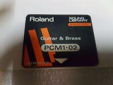 ROLAND SO-PCM1-02 GUITAR & BRASS CARD for JV 80 / 880 / 1000
