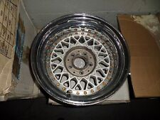 VERY RARE BBS RS203  15X9.5 3 PIECE MODULAR MERCEDES BENZ SL WHEEL {1} 35954