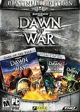 Warhammer 40,000: Dawn of War - Platinum Edition PC NEW SEALED 3 UNUSED KEYS