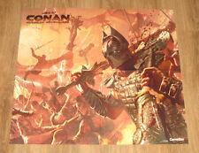 Razer Lachesis &  Age of Conan Hyborian Adventures very rare Poster 60x66cm