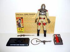 2008 COBRA TROOPER G.I. Joe 25th Anniversary Figure COMPLETE w/FILE CARD C9+ v10