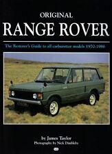 Original Range Rover les restaurateurs guident pour tous les modèles de carburateur 1970-1986