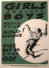 Girls Against Boys son impresiones artísticas de casey Burns-póster