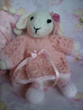 Bride Bethany's Wedding Day, Bride, Groom Bridesmaids- Soft Toy Knitting Pattern