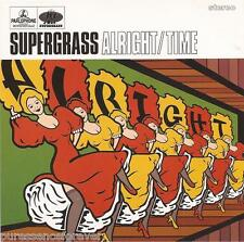 SUPERGRASS - Alright/Time (UK 4 Track CD Single)