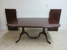 Pennsylvania House Cherry 2 Board Pedestal Conference Banquet Dining Room Table