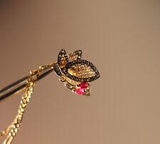 """585 Gold Anhänger """" Schmetterling """" mit Brillanten  Bestückt  (83)"""