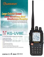 Wouxun KG-UV8E Tri-Band 1.25m/2m/70cm VHF/UHF Two Way Radio