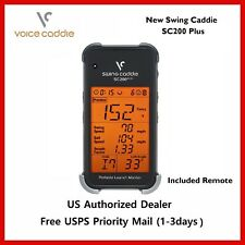 New Voice Caddie Sc200 Plus Portable Golf Launch Monitor Free Priority shipping