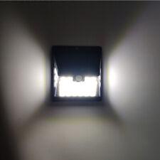 2Pcs LED Lumière Solaire PIR Sans Fil Applique éclairage Solaire Spot Sécurité