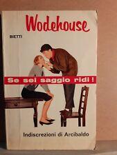 Indiscrezioni di Arcibaldo - Wodehouse - Bietti - il picchio 1966