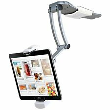 CTA Digital 2-In-1 Kitchen Mount Stand for iPad Air/iPad mini and All Tablets (P