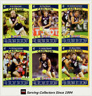 2010 AFL Teamcoach Trading Card Gold Parallel Team Set Carlton (11)