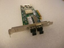 Qlogic QLE8142-SR Dual Port 10Gb Ethernet (FCoE) HBA card including GBIC's
