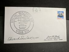 Uscgc Biscayne Bay Wtgb-104 Naval Cover 1988 Cachet St. Ignance, Michigan
