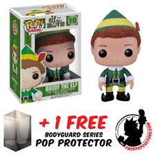 FUNKO POP ELF THE MOVIE - BUDDY THE ELF VINYL FIGURE + FREE POP PROTECTOR
