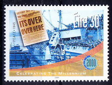 Millennium, Newspaper, Ship, World War II over, Ireland MNH,  - Wa9