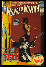 Wonder Woman #199 High Grade Jeff Jones Painted Cover DC Comic 1972 VF