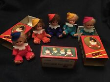 Rare Vintage Pedigree Tiny Tots Clown Doll In A Matchbox
