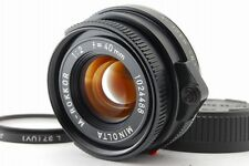 =MINT Minolta M-Rokkor 40mm f/2 Lens Leica M Leitz CL CLE +Filter from Japan#s21