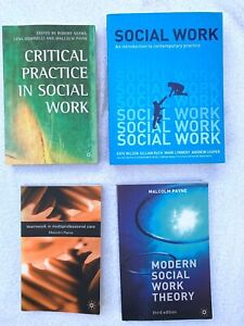 Social Work Book Bundle (8 Books) Excellent condition, proceeds to charity