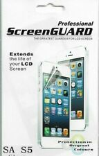 Professional Screen Guard  SA S5 cear the greatest guarder for LCD screen