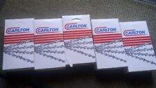 "5x CARLTON 20"" 3/8 063 72 DL full Chisel Chains fits Stihl - FREE  POST"