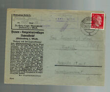 1943 Germany Ravensbruck Concentration Camp Cover KZ to Krakow Poland