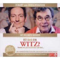 ECKART VON HIRSCHHAUSEN/HELLMUTH KARASEK - IST DAS EIN WITZ CD  NEU