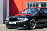 Spoilerschwert Frontspoiler aus ABS passend für BMW 1er E82 E88 M-Paket mit ABE