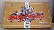 Vintage Corgi Centerville Fire Dept. American La France Aerial Ladder Truck -M/B