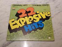 22 Explosive Hits Vol 2~1972 K-Tel Compilation LP~Chi-Lites~James Brown~Lobo +