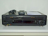 Sony SLV-T2000 High-End Hi8- / VHS-Recorder Kombination, FB&BDA, 2J. Garantie