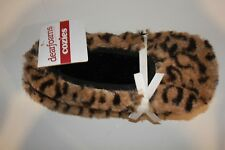 DEARFOAM CHEETAH SLIPPER LARGE