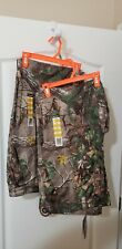 Realtree camo hunting pants (2 pair) Realtree Xtra Green XL (40-42)