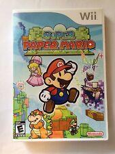 Super Paper Mario - Nintendo Wii - Replacement Case - No Game